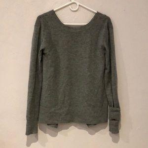 Lululemon Wool Cross back sweater